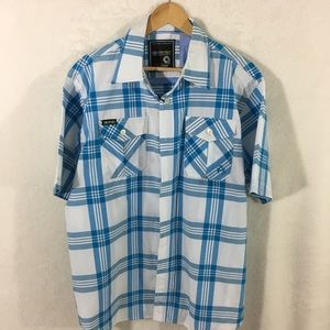 Akademiks Button Down Shirt Size XL NWT